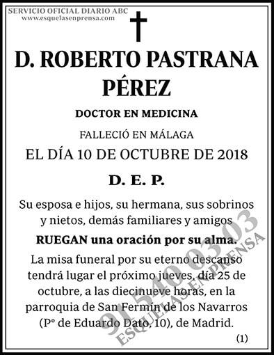 Roberto Pastrana Pérez